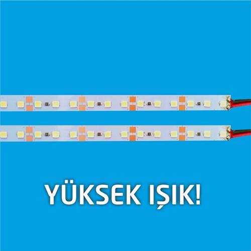 LED BAR 5630  12Volt  72Led/mt  BEYAZ